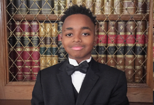 BMAN APPOINTS ONE OF THE SMARTEST BOYS IN THE WORLD- JOSHUA BECKFORD AS L.I.F.E SUPPORT AMBASSADOR
