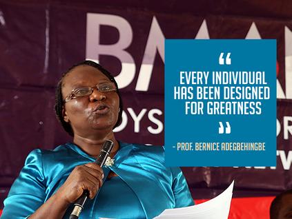Professor Bernice O. Adegbehingbe